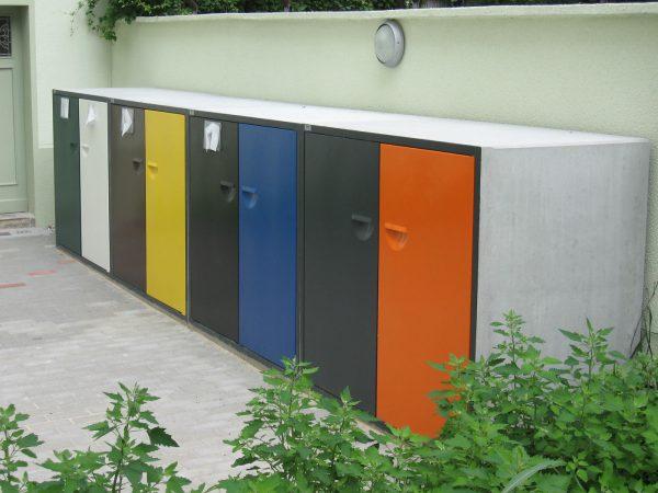 BAB Müllboxen aus Beton